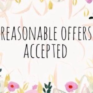 Make an offer or bundle for discount!